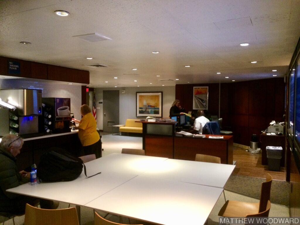 Amtrak Club Acela Lounge