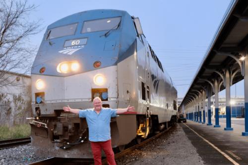 Matthew Woodward on a US Rail Adventure